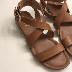 Franco Sarto Glorious Sandal In Saddle